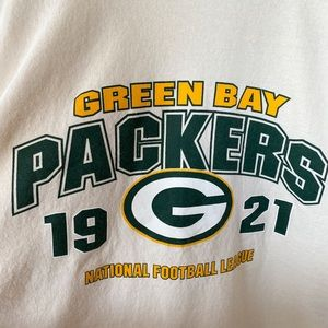 Green Bay Packers Vintage Style Tee Shirt XL